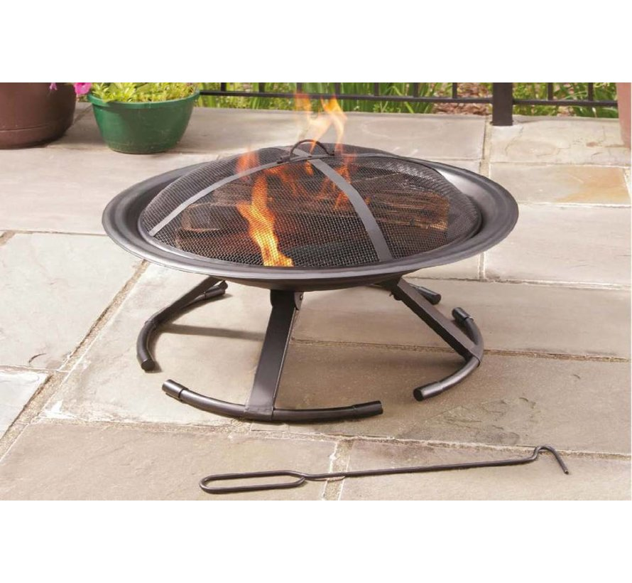Feuerschale mit Grillfunktion
