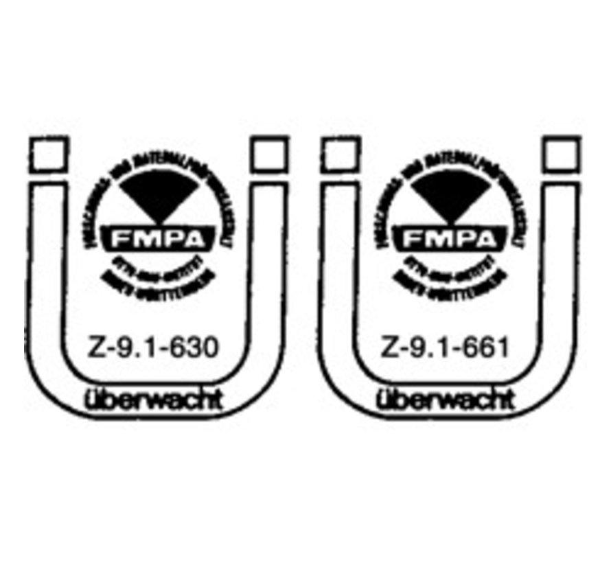 Holzbauschrauben mit Bohrspitze FSK-TX20 GELB 4 X 60