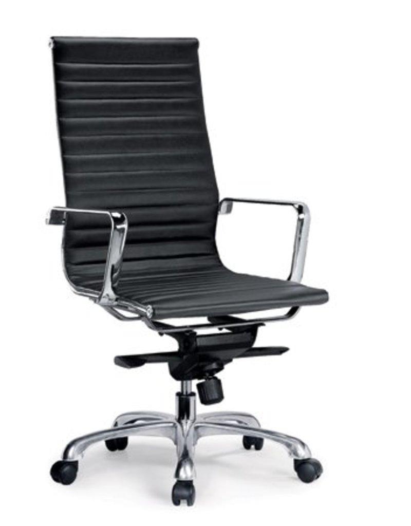 Design Bureaustoel Kopen.Ea119 Comfort Leer Bureaustoel