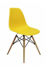 DSW Eames Design Dining Chair Yellow