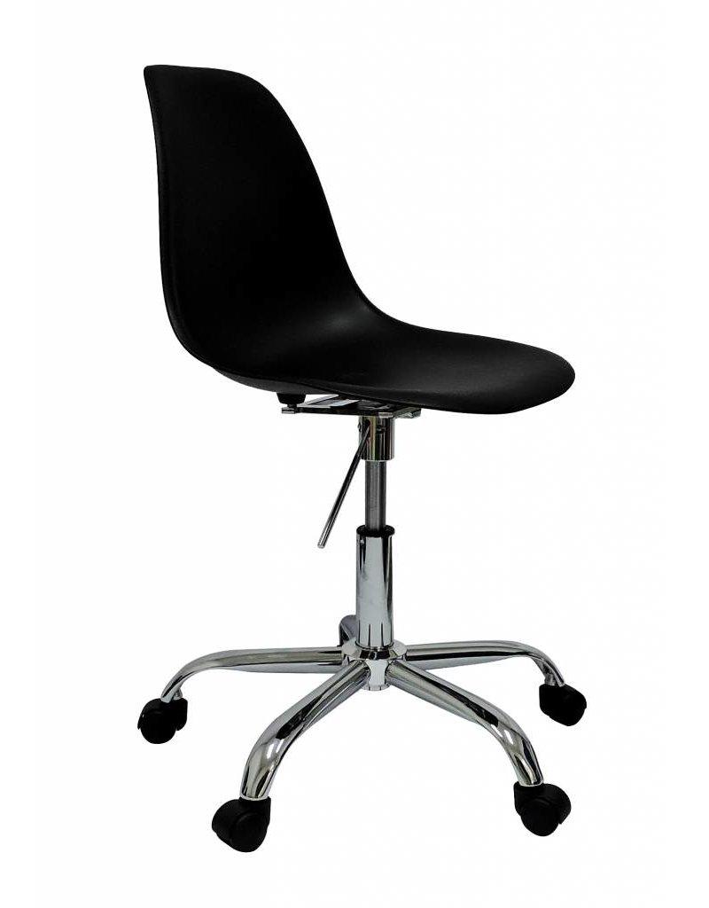 Design Bureaustoel Kopen.Pscc Eames Design Stoel Zwart