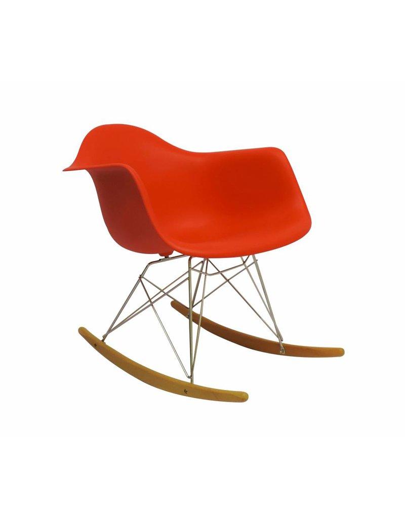 RAR Eames Design Schommelstoel Rood
