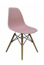DSW Eames Design Eetkamerstoel Roze