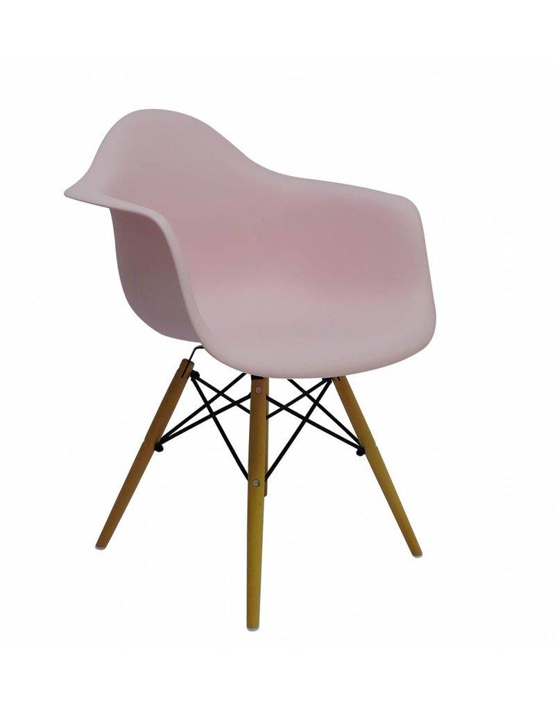 DAW Eames Design Stoel Roze