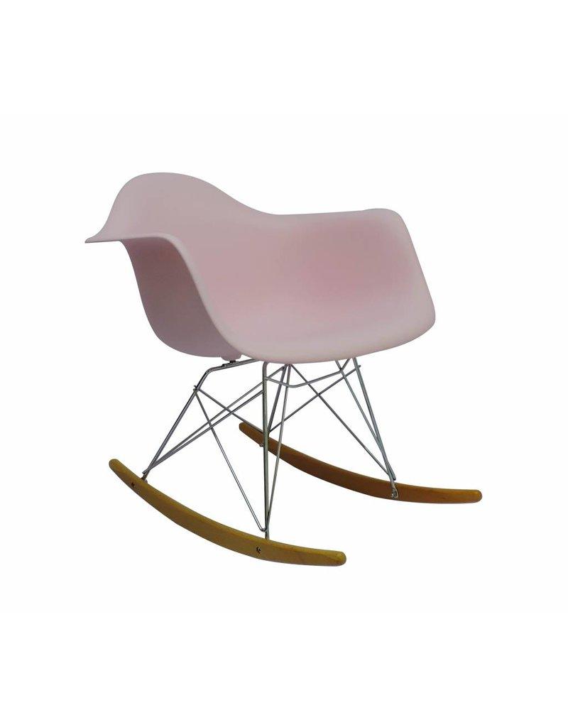 Fabulous Rar Eames Design Rocking Chair Pink Ibusinesslaw Wood Chair Design Ideas Ibusinesslaworg