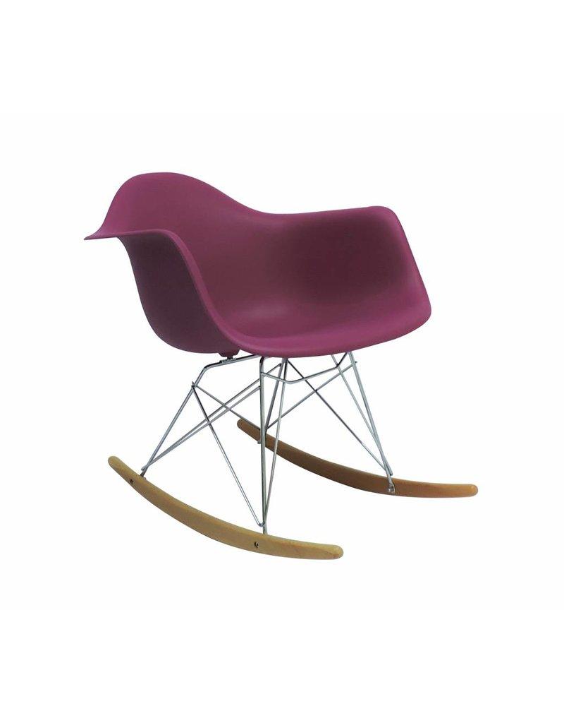 Mooie Egg Chair.Rar Eames Design Rocking Chair Pink