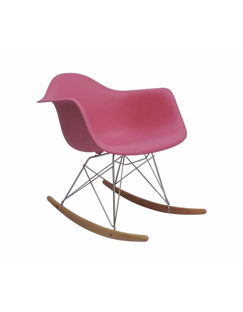 RAR Eames Design Rocking Chair Pink