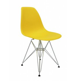 DSR Dining Chair Yellow