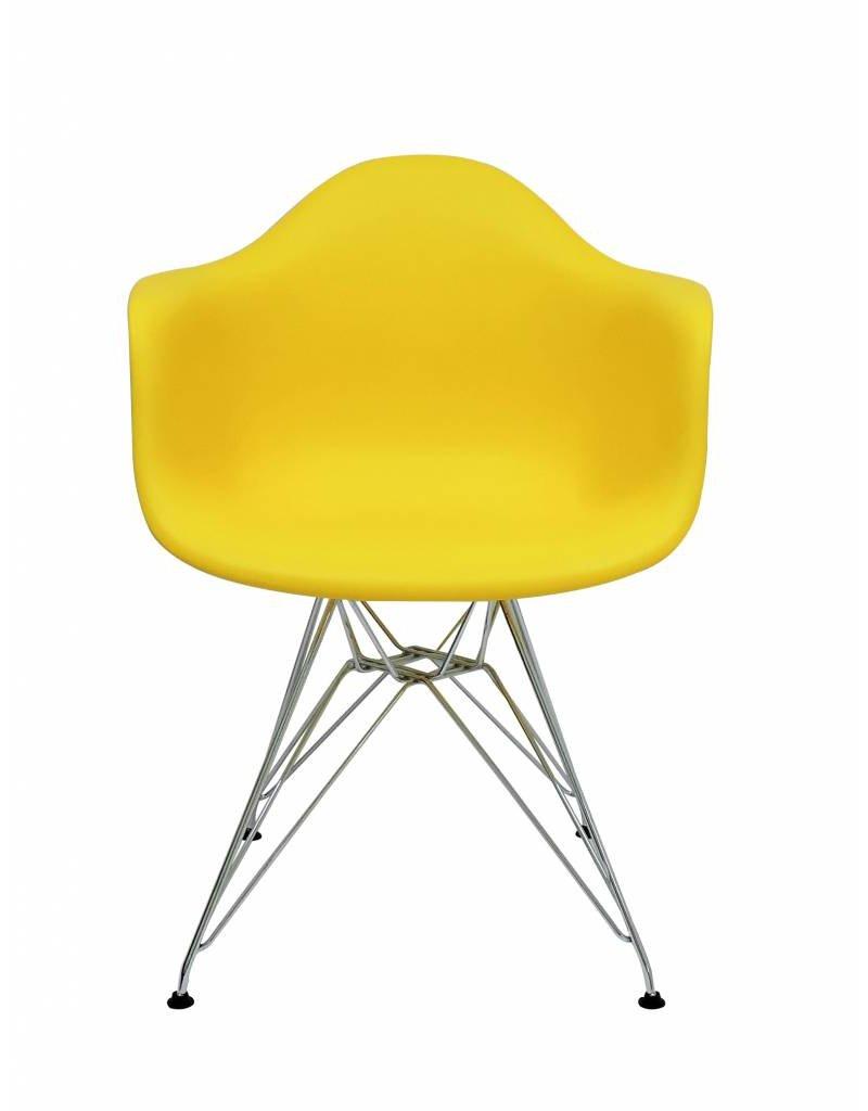 DAR Eames Design Chair Yellow
