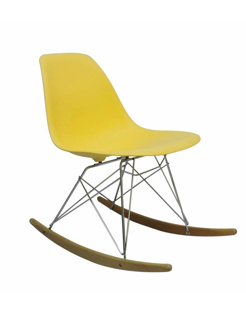 RSR Eames Design Rocking Chair Yellow
