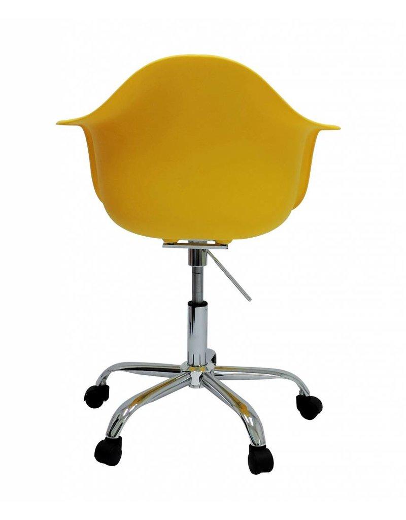 PACC Eames Design Stoel Geel