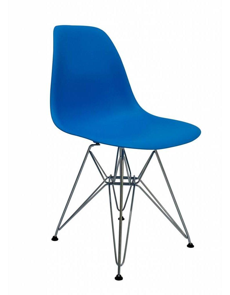 DSR Eames Design Dining Chair Blue