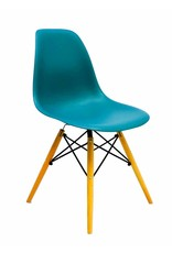 DSW Eames Design Dining Chair Blue