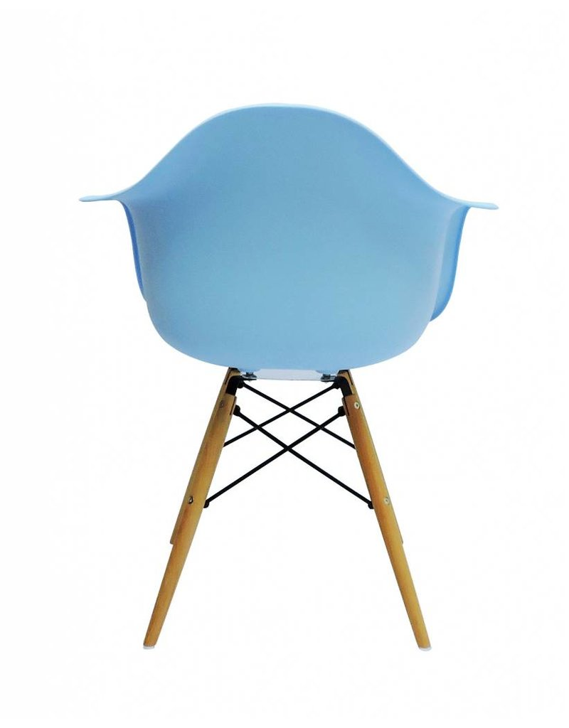 DAW Eames Design Chair Blue