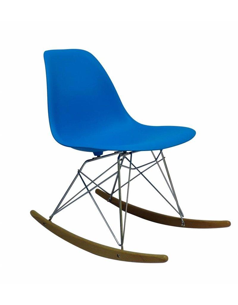 RSR Eames Design Rocking Chair Blue