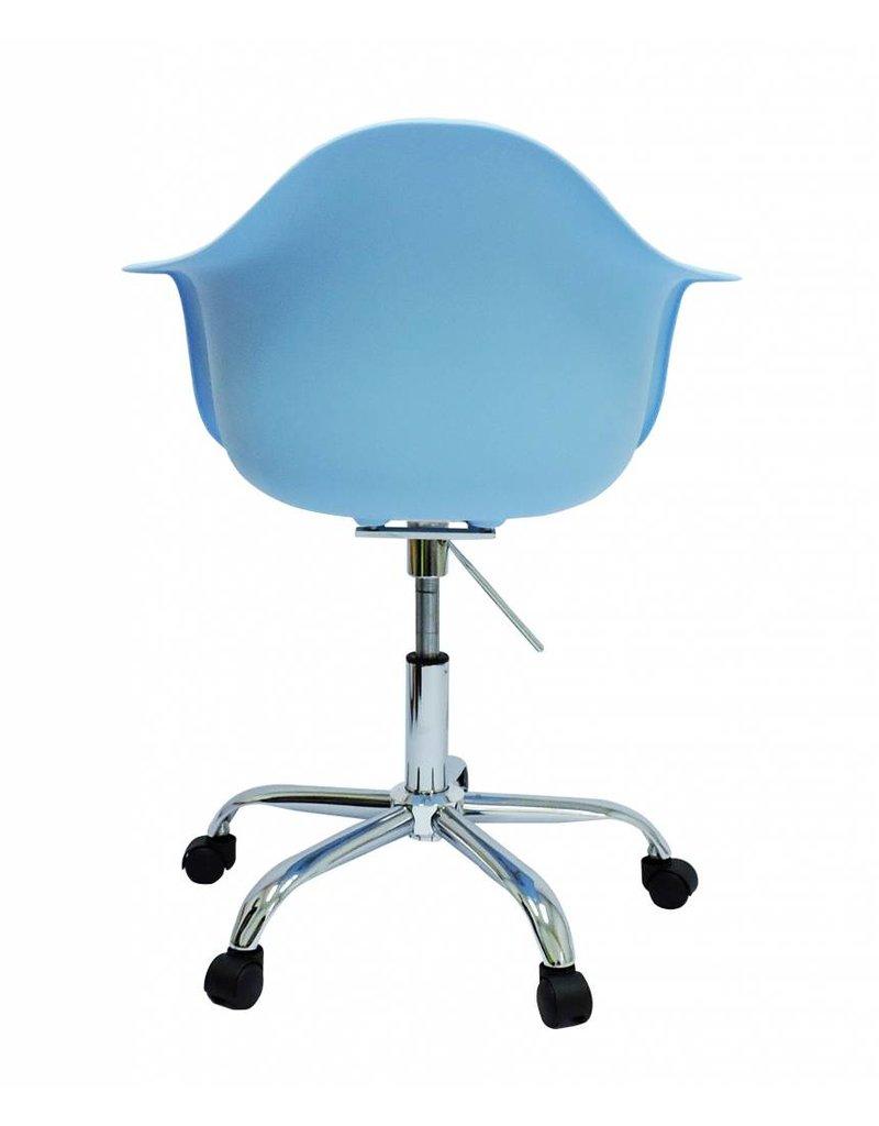 PACC Eames Design Stoel Blauw