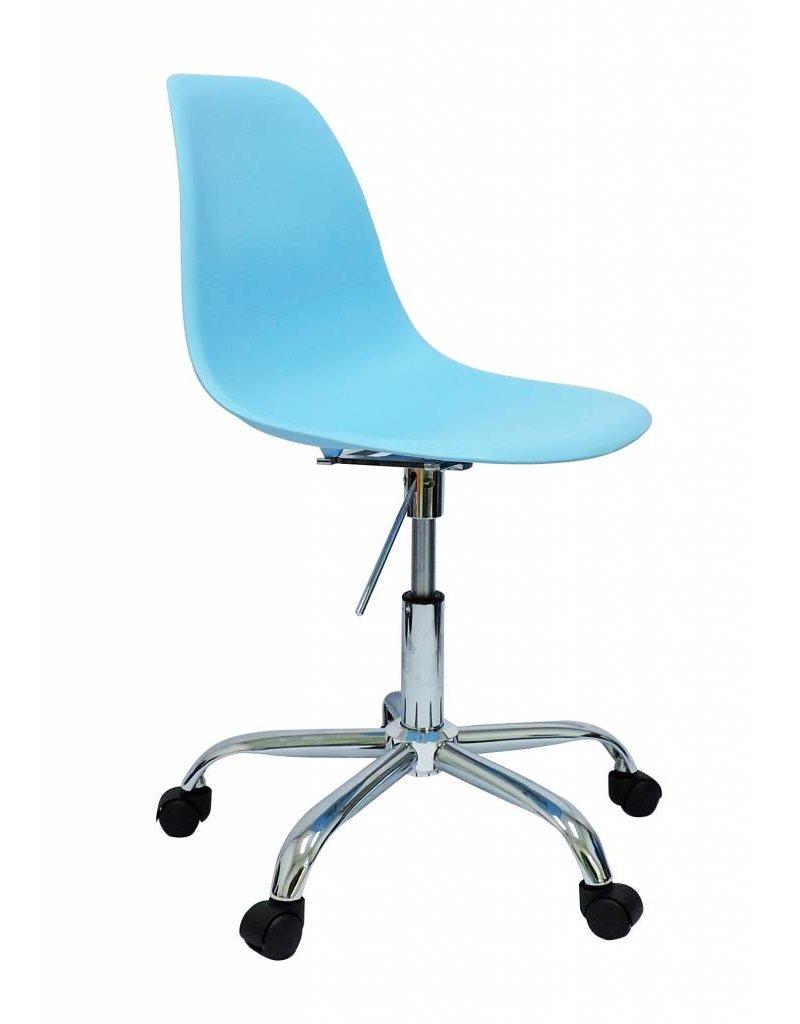 Blauwe Design Stoelen.Pscc Eames Design Stoel Blauw
