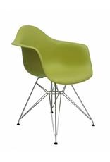 DAR Eames Design Stoel Groen