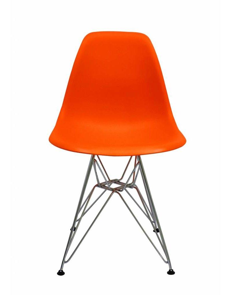 DSR Eames Design Dining Chair Orange