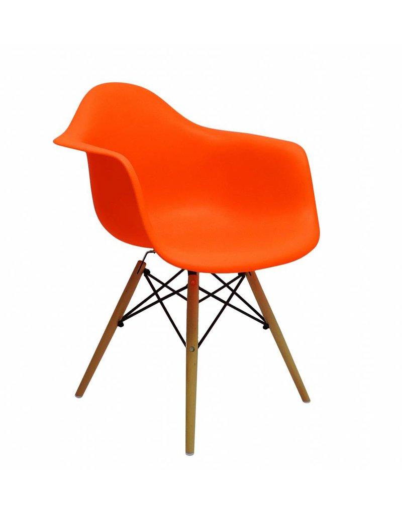 Design Stoel Kopen.Daw Eames Design Stoel Oranje