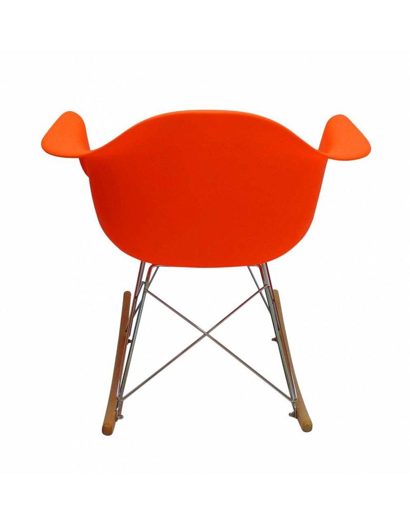 RAR Eames Design Rocking Chair Orange