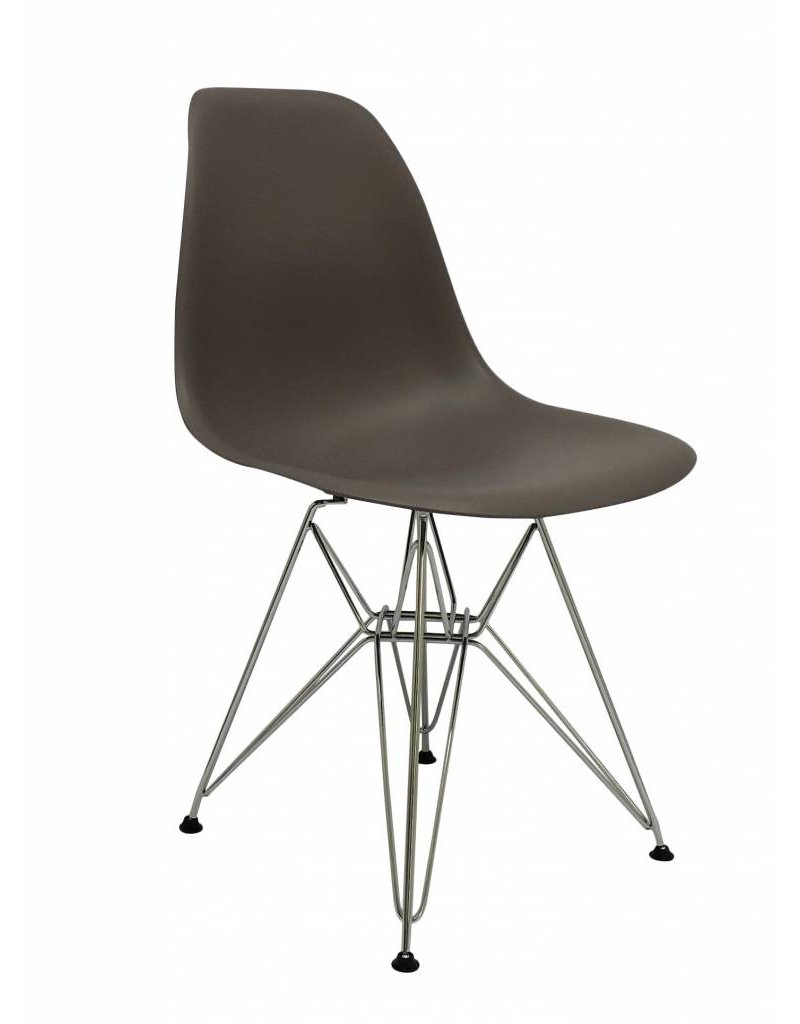 DSR Eames Design Dining Chair Brown