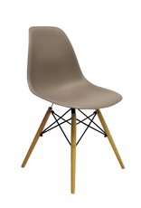 DSW Eames Design Dining Chair Brown