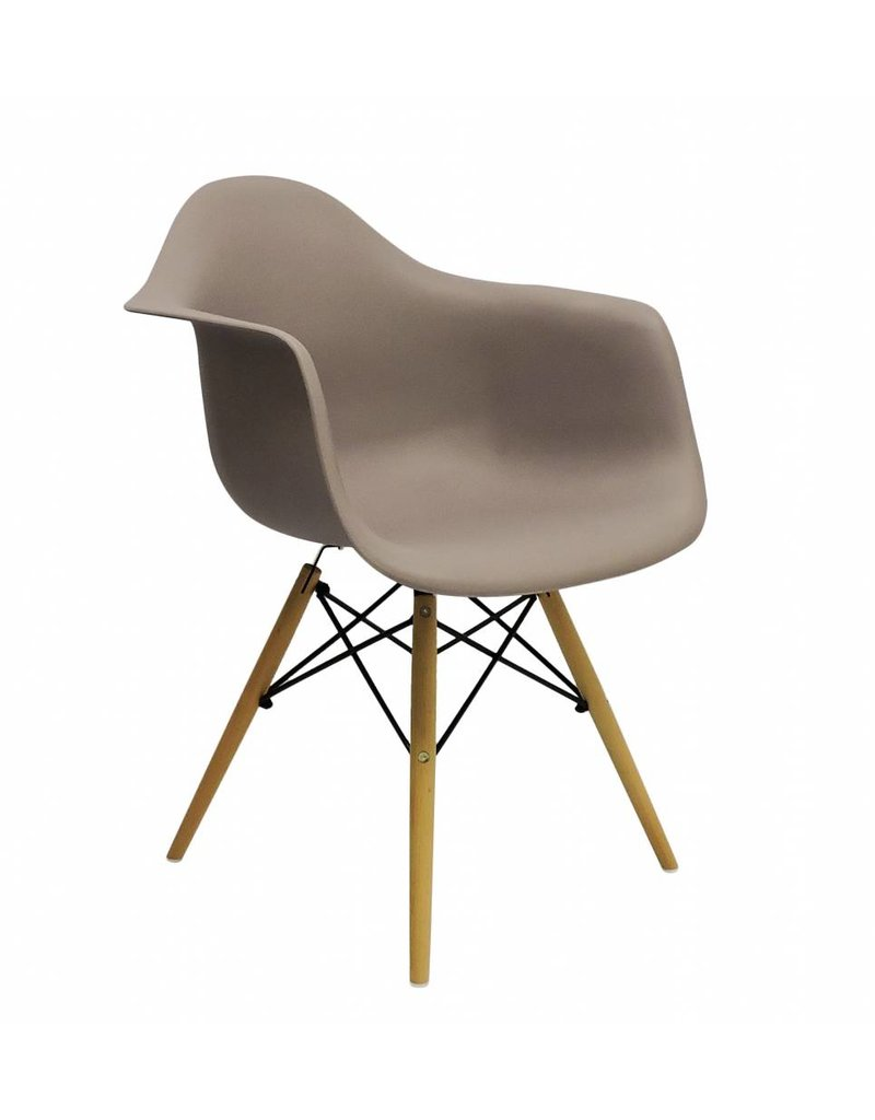 DAW Eames Design Chair Brown