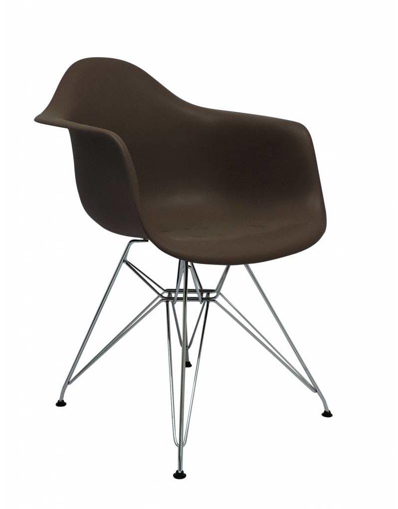 Reproductie Design Stoelen.Dar Eames Design Stoel Bruin Design Seats Design Stoelen