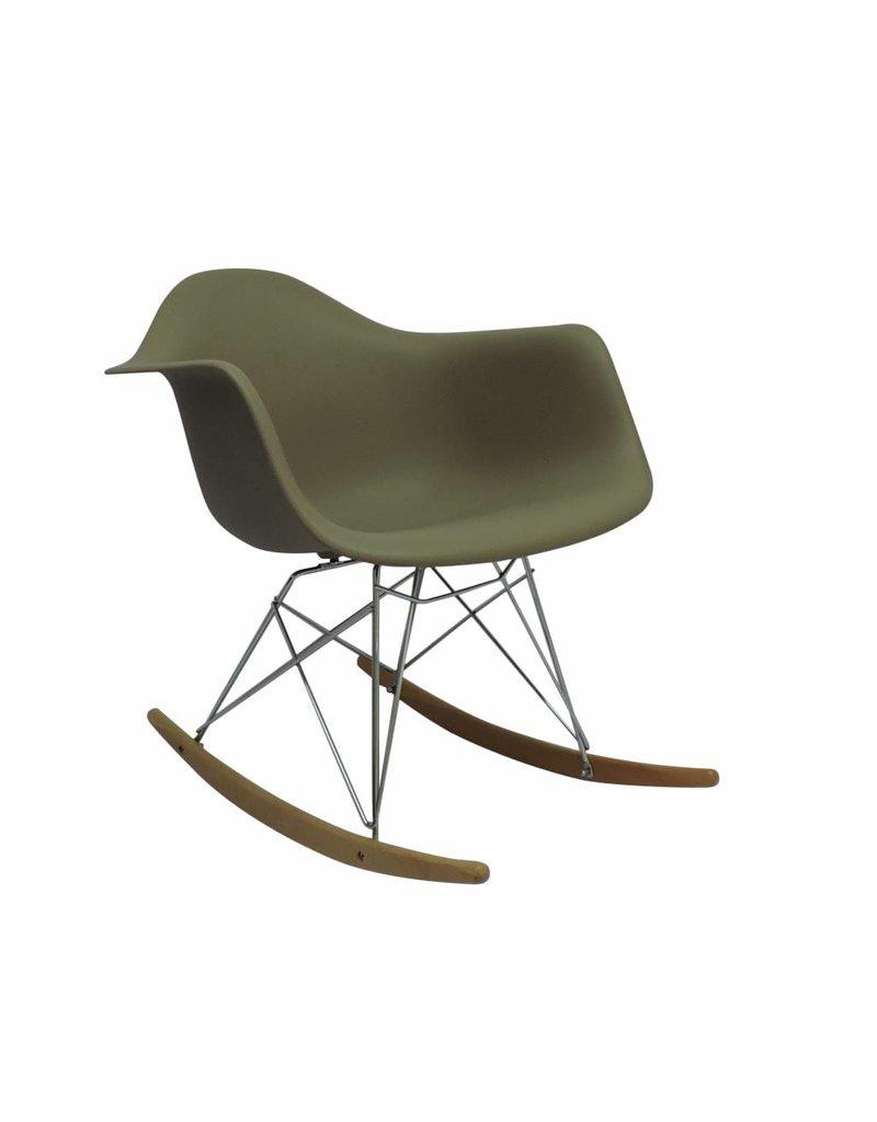 RAR Eames Design Rocking Chair Brown