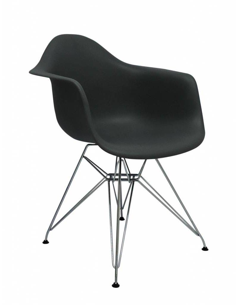 Plastic Design Stoelen.Dar Eames Design Stoel Grijs Design Seats Design Stoelen