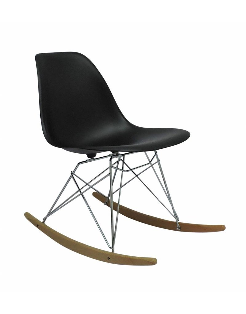 RSR Eames Design Rocking Chair Grey