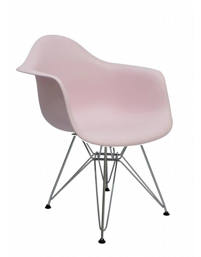 DAR Eames Design Chair Pink