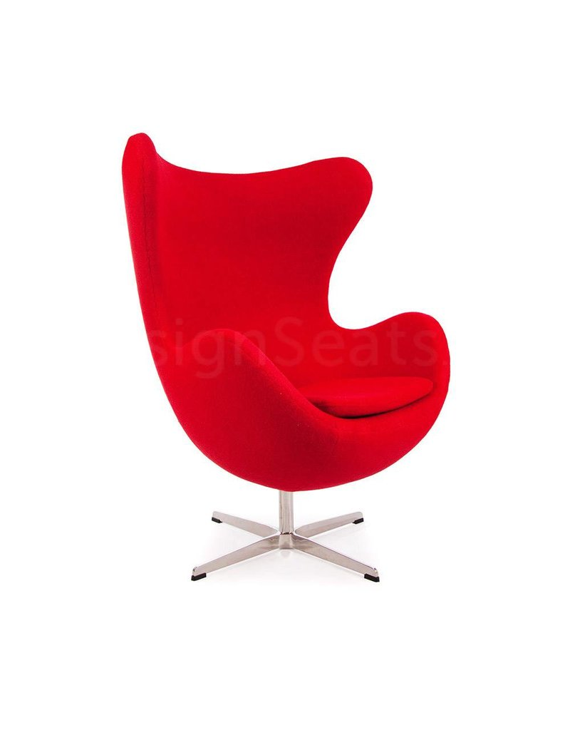 Egg chair Red Cashmere