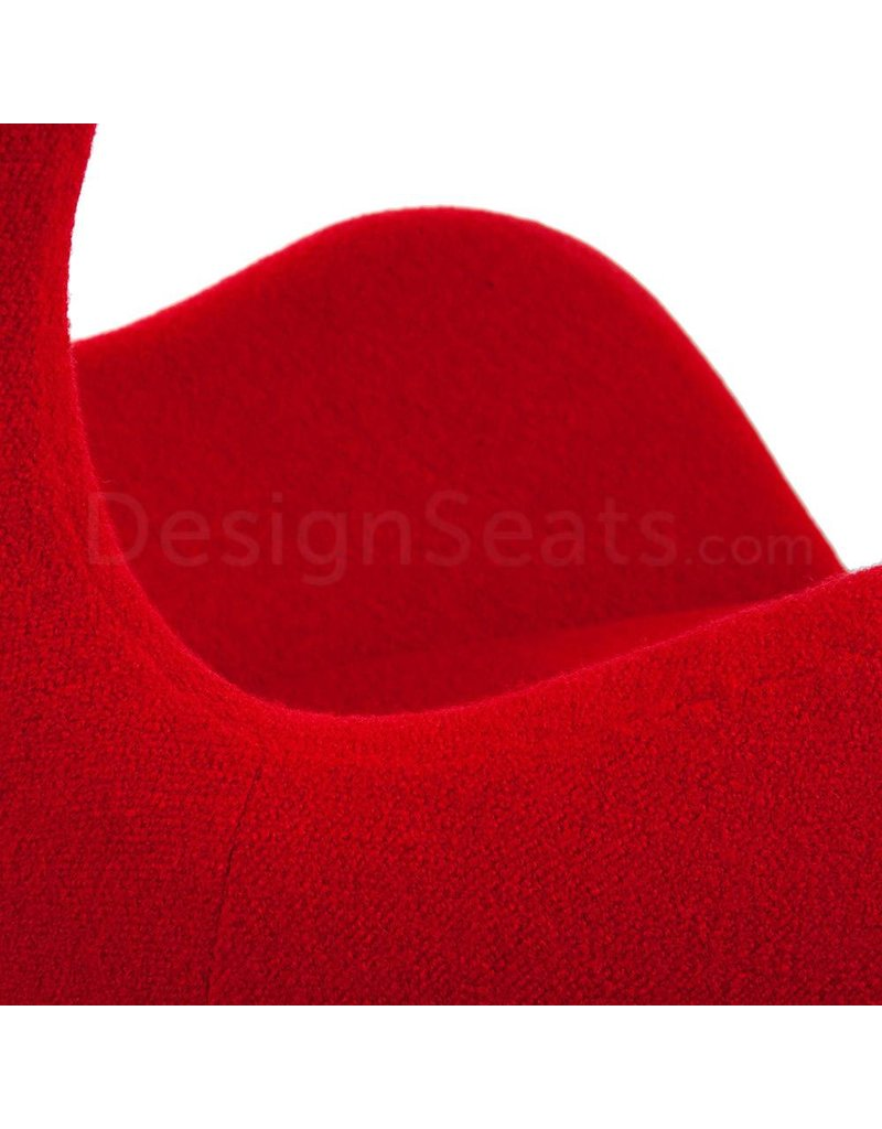 Egg chair Rood Cashmere
