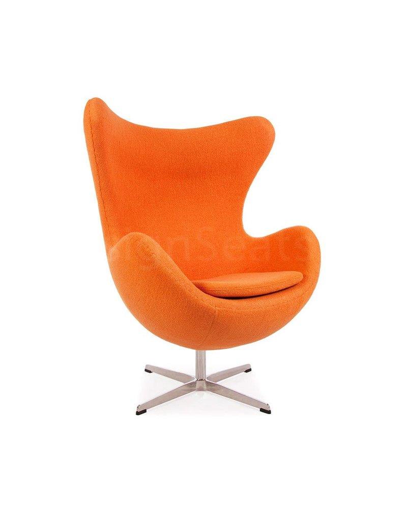 Oranje Design Fauteuil.Egg Chair Oranje Cashmere