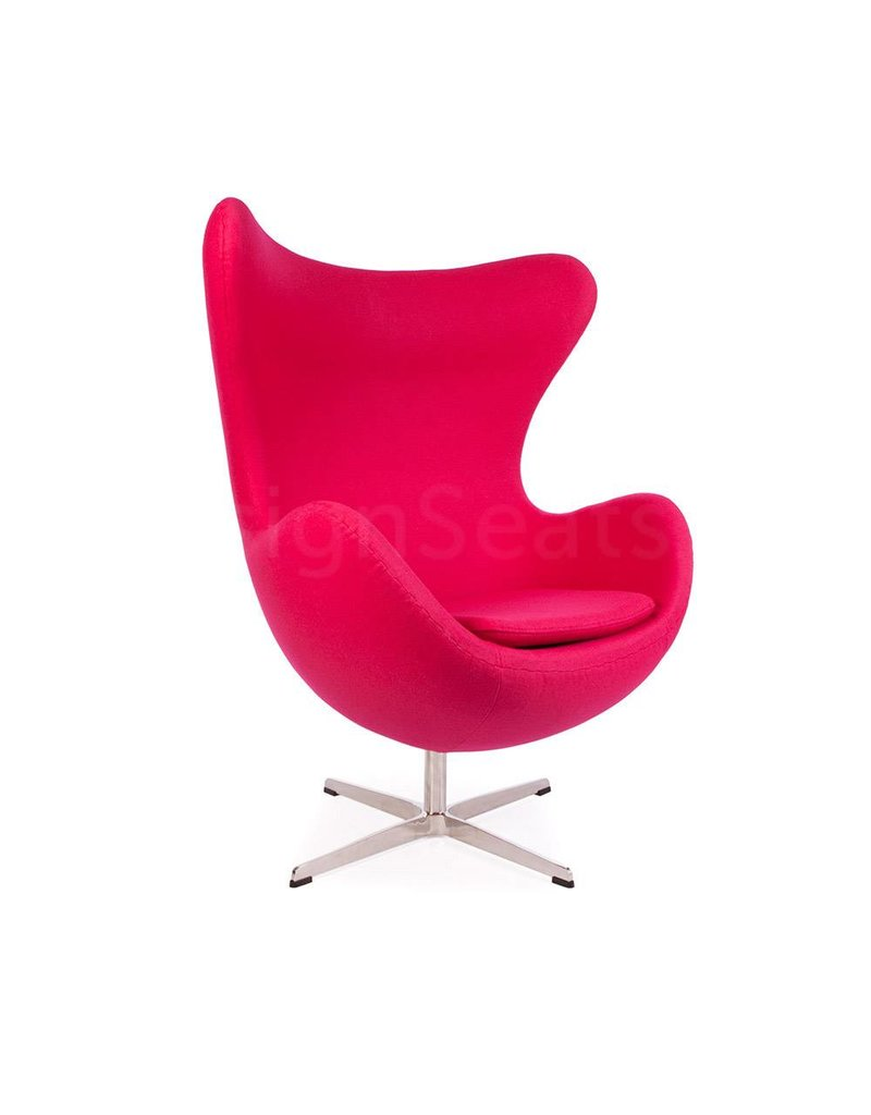 Egg Chair Roze.Egg Chair Roze Cashmere