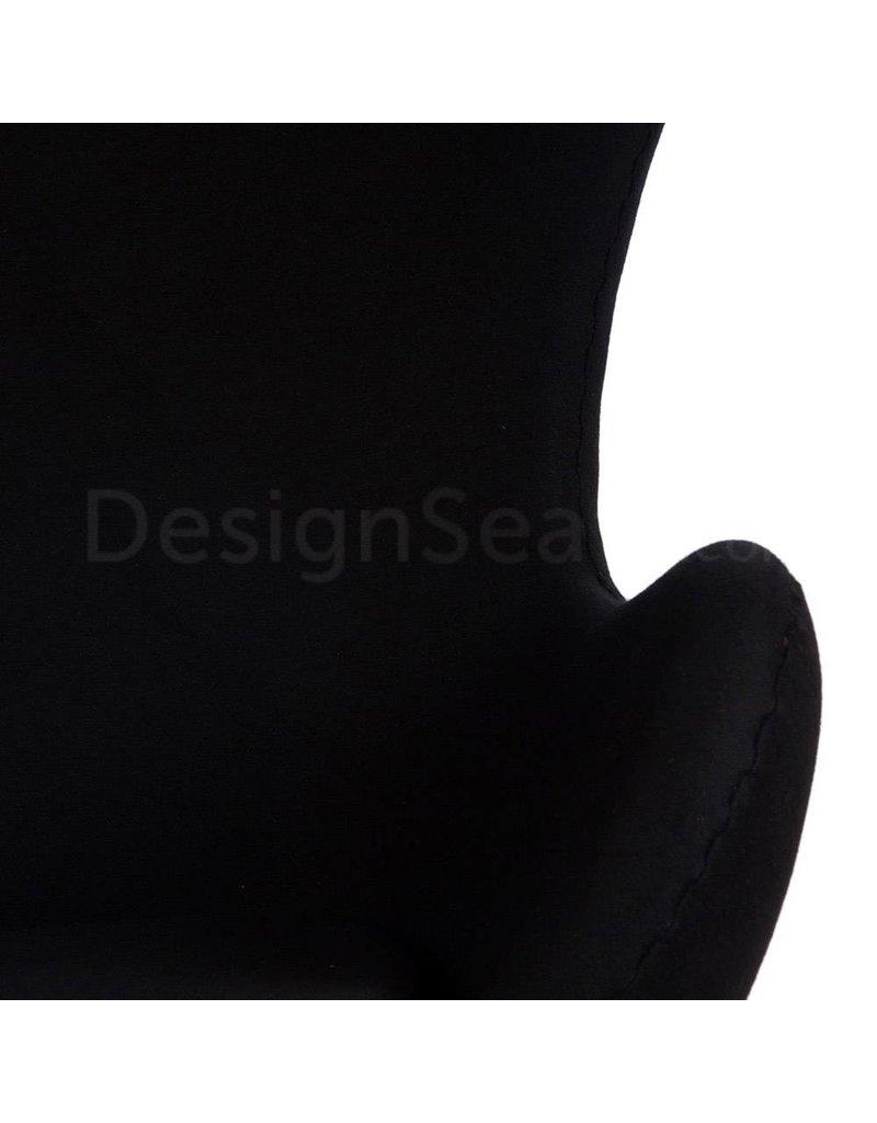 Egg chair Zwart Cashmere