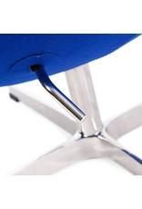 Egg chair Blue Cashmere