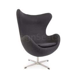 Egg chair Grijs Cashmere