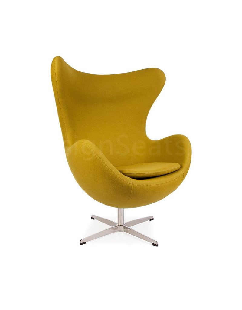 Egg chair Olijf Cashmere