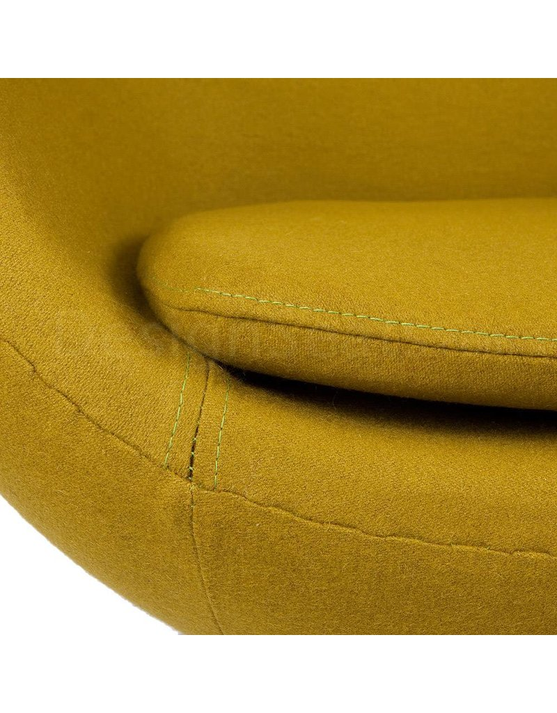 Egg chair Olive Cashmere