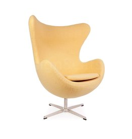Egg chair Geel Wool