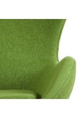 Egg chair Olivegreen Wool