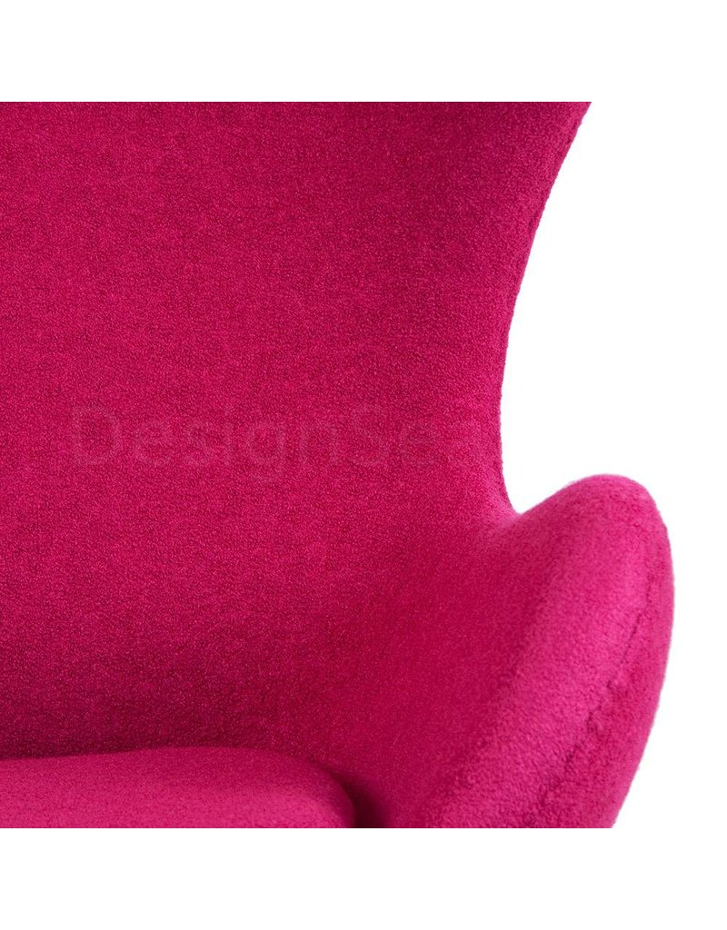 Egg Chair Roze.Egg Chair Roze Wool
