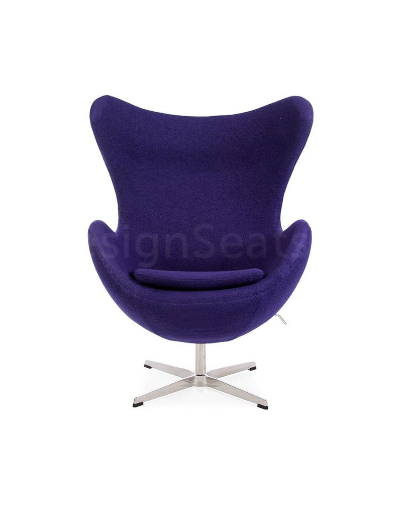 Egg chair Paars