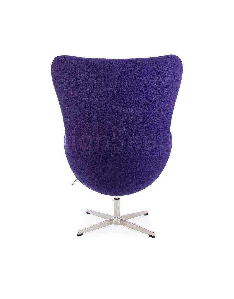 Egg chair Paars Wool