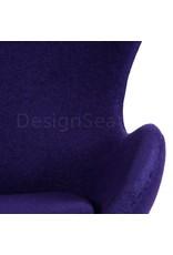 Egg chair Purple
