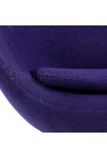 Egg chair Purple Wool