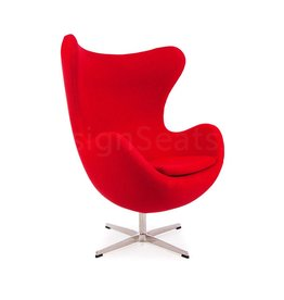 Egg chair Rood